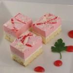 ストロベリーホワイトケーキ